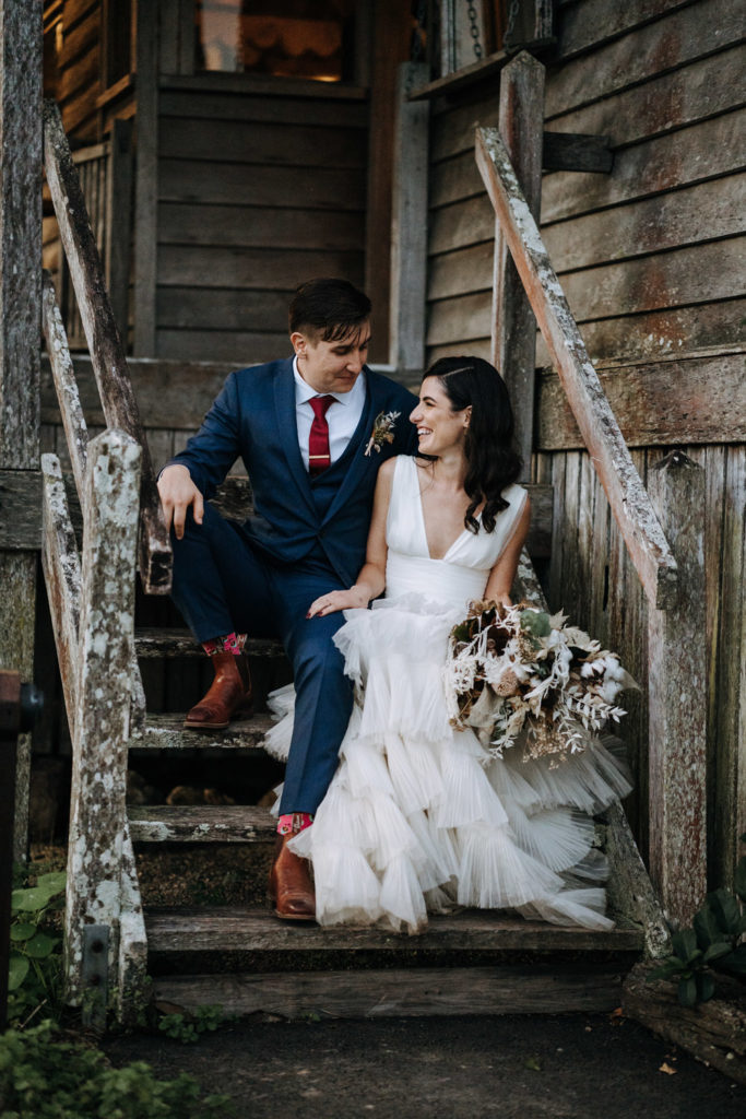 Yandina Station Wedding Flowers Nat and Tom